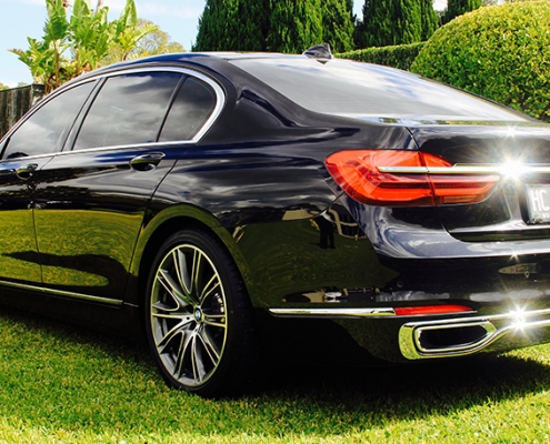 BMW 7 Chauffeur Hire Sydney & Australia | Marquee Limousines