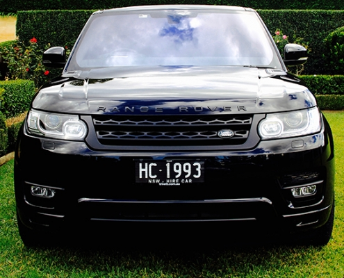 Range Rover Sport Chauffeur Hire Sydney & Australia | Marquee Limousines