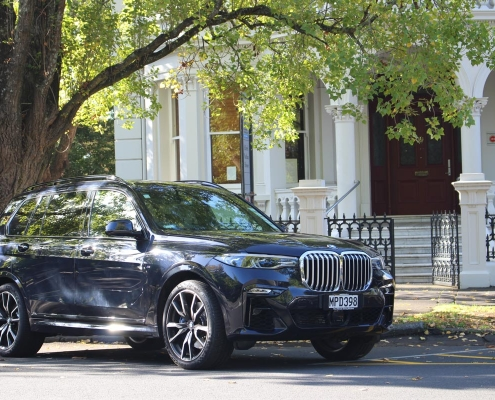 We provide chauffeur fire for BMW X7 in Sydney, Australia. Get a quote and book with us today!