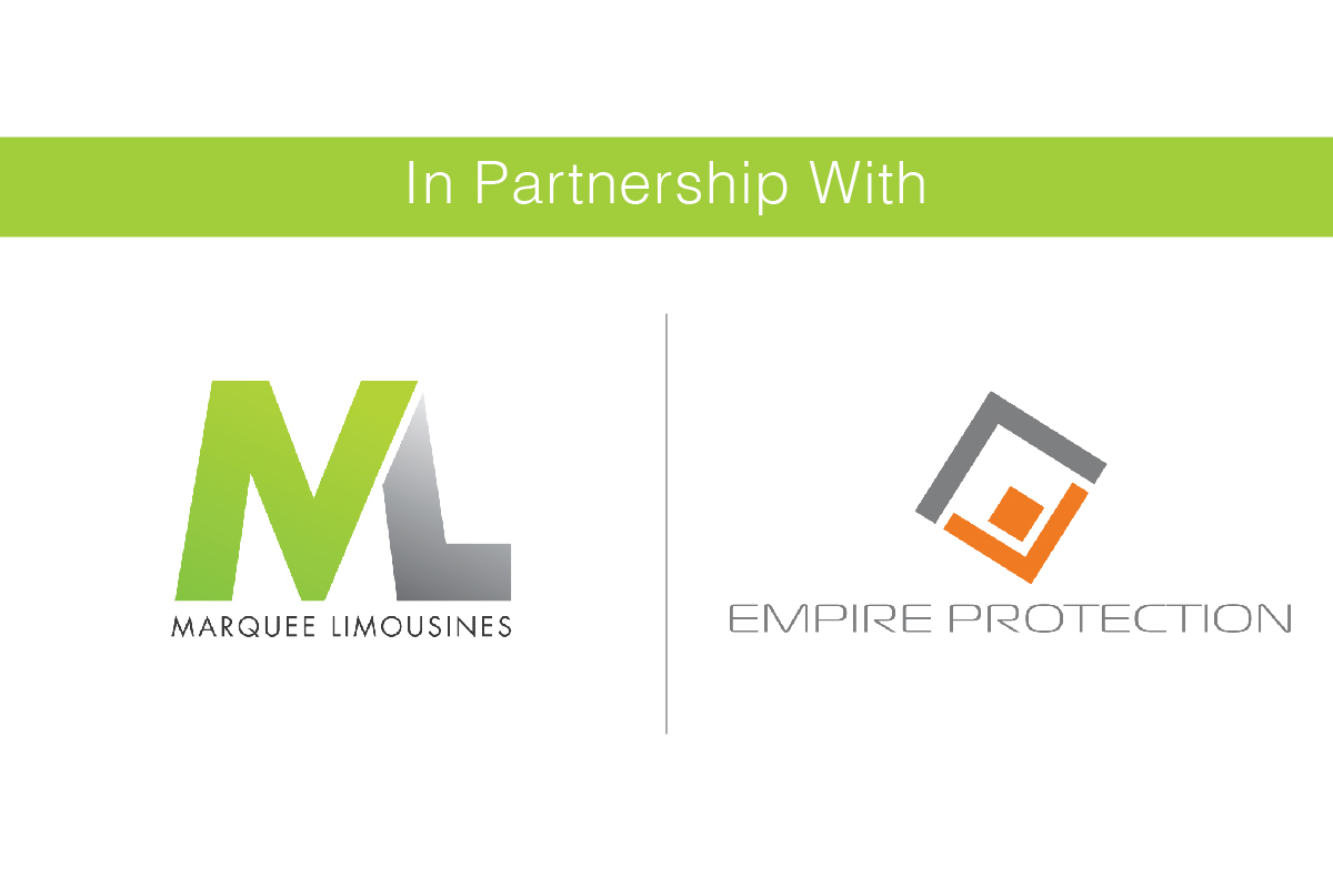 Empire Protection & Marquee Limousines are proud to announce a strategic partnership, aimed at providing safe, secure & comfortable chauffeur travel.